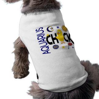 Aquarius Chick 1 Doggie Shirt