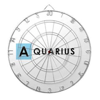 AQUARIUS COLOR DARTBOARD