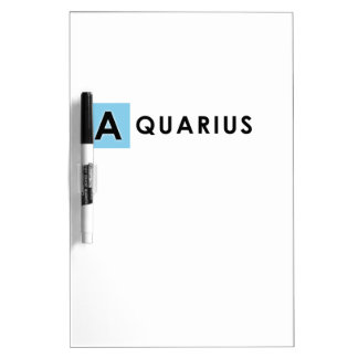 AQUARIUS COLOR DRY ERASE BOARD