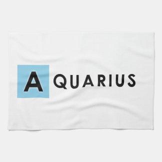 AQUARIUS COLOR TEA TOWEL