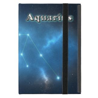 Aquarius constellation iPad mini cover