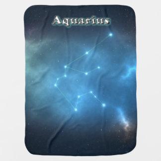 Aquarius constellation receiving blanket