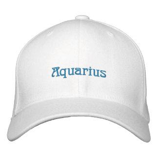 AQUARIUS EMBROIDERED HAT