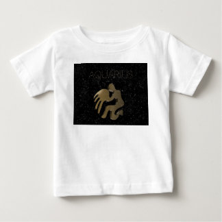 Aquarius golden sign baby T-Shirt
