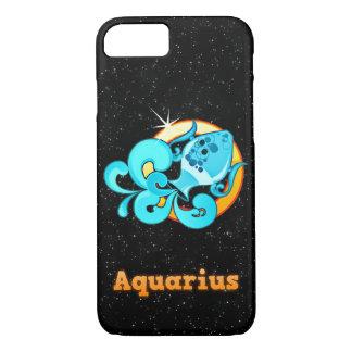 Aquarius illustration iPhone 8/7 case