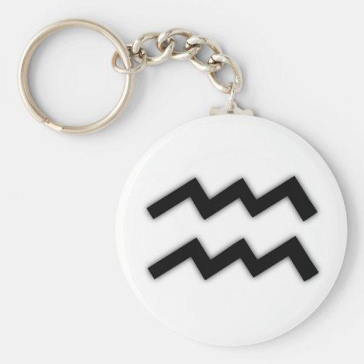 Aquarius Key Chain