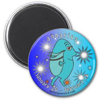 Aquarius Magnet 2 Inch Round Magnet