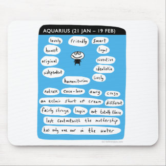 aquarius mouse pad
