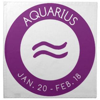 Aquarius Napkin