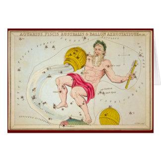 Aquarius, Piscis Australis & Ballon Aerostatique Card