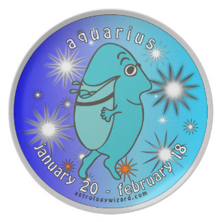 Aquarius Plate