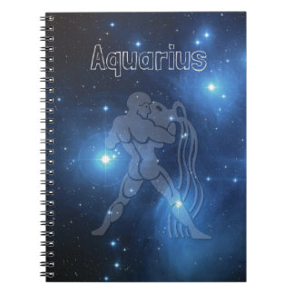 Aquarius Spiral Note Book