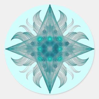 Aquarius Star Sticker
