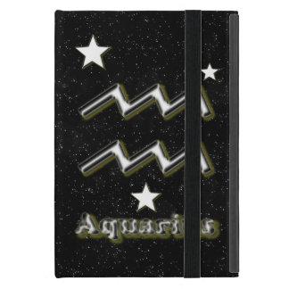 Aquarius symbol case for iPad mini