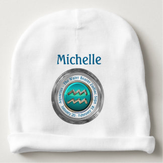 Aquarius - The Water Bearer Astrological Sign Baby Beanie