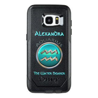 Aquarius - The Water Bearer Horoscope Sign OtterBox Samsung Galaxy S7 Edge Case