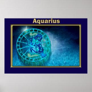 Aquarius the Water Bearer Poster