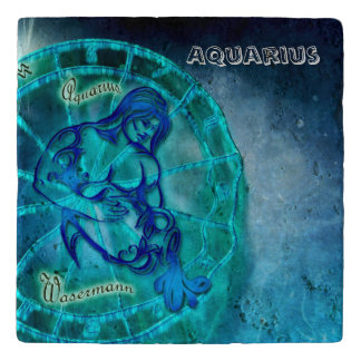 Aquarius the Water Bearer Trivet