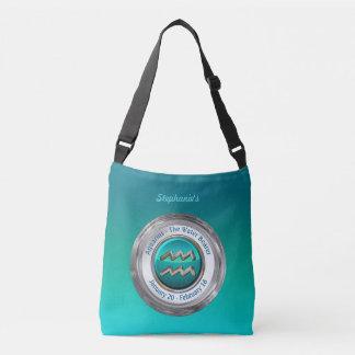 Aquarius - The Water Bearer Zodiac Sign Crossbody Bag