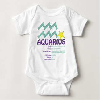 Aquarius Traits Baby Baby Bodysuit