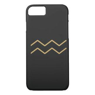 Aquarius Zodiac Sign Basic iPhone 8/7 Case