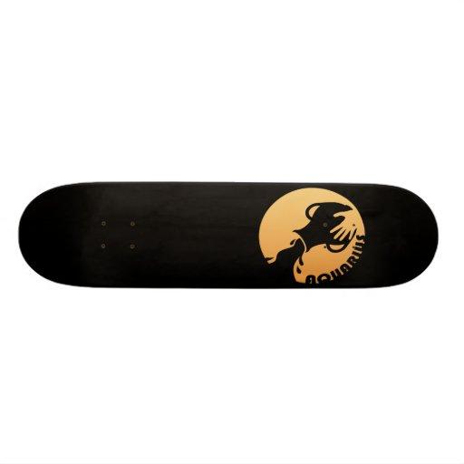 Aquarius Zodiac Sign Skateboard Decks