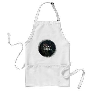 Aquarius Zodiac StarSign Universe Crafts Cook Chef Apron