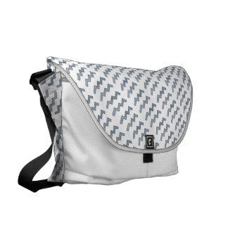 Aquarius Zodiac Symbol Element Messenger Bags