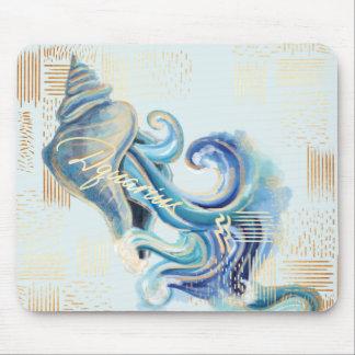 Aquarius Zodiac Watercolour Artistry mousepad