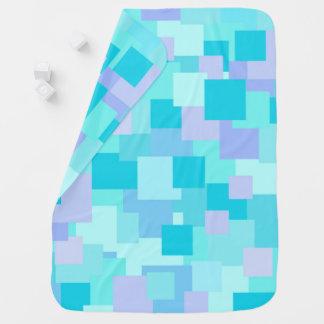Aquasquare Cubed Baby Blanket