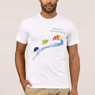 AquaTerra Environments Staff Shirt Stylized Fish