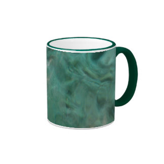 Aquatic Abstract - Painted by Nature Ringer Mug