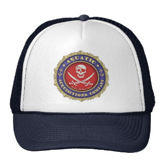 Aquatic Acquisitions -color Cap