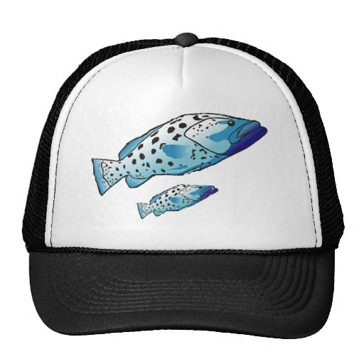 Aquatic Animals Collection Trucker Hats