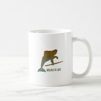 Aquatic Ape - Vintage Coffee Mug