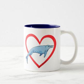 Aquatic dinosaur mug
