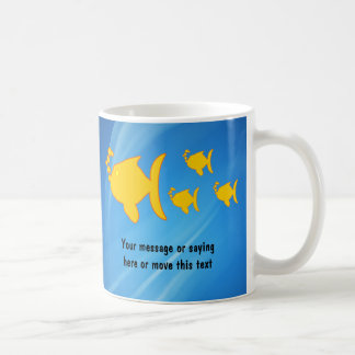 Aquatic Fish Thank You Mug