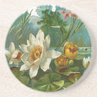 Aquatic Flower Coasters
