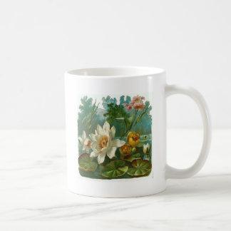 Aquatic Flower Coffee Mug