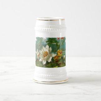 Aquatic Flower Mugs