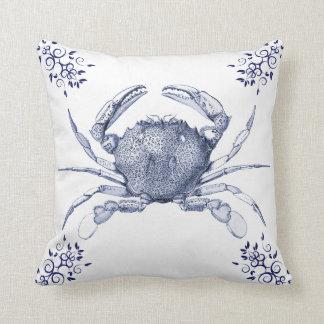 Aquatic Life Delftware ~ Common Crab Cushions