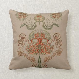 Aquatic Life ~ Haeckel ~ Jellyfish Cushions