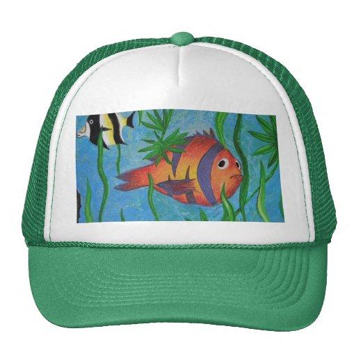 aquatic life hats
