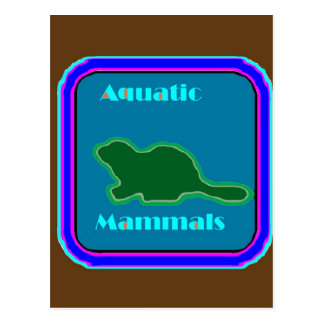 Aquatic Mammals - Nature Lovers Favorite Post Card