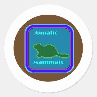 Aquatic Mammals - Nature Lovers Favorite Stickers