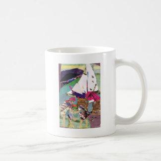 Aquatic Play Classic White Coffee Mug