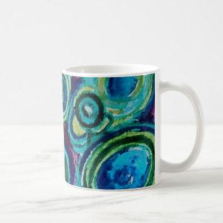 Aquatic Rocks Basic White Mug
