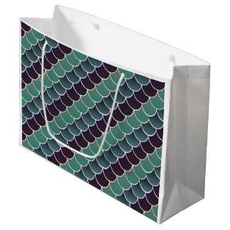 Aquatic Scales Large Gift Bag
