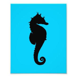Aquatic Sea Horse Art Photo