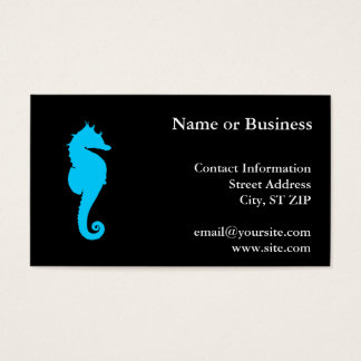 Aquatic Seahorse Business Card